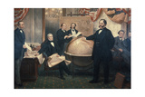 The Signing of the Alaskan Treaty  1867