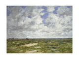 Berck  Cloudy Landscape  1882