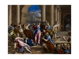 Christ Driving the Money Changers from the Temple  C1570