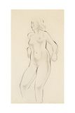 Study of a Female Nude