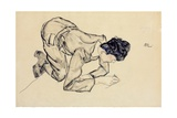 Erich Lederer Drawing on the Floor  1912