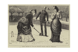 Spring Meeting of the All England Croquet Club at Wimbledon
