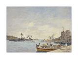 Villefranche Harbour  1892
