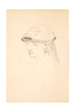 Young Girl in Round Hat  1878-79