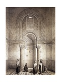 Mihrab of Mosque of Mohammed-Ben-Qalaum (14th Century) in Cairo
