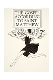 Angel of St Matthew  1931