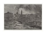 The Late Flood of the Arno at Florence