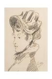 Portrait of Madame Jules Guillemet  C1880