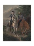 Last Meeting Between Generals Lee and Jackson  1872