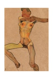 Male Nude  Yellow  1910