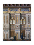 Main Hall of El Bordeyny Mosque (17th Century) in Cairo