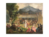 Fete at Colisee Near Lille  C1791