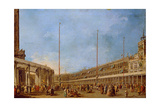 The Procession of the Corpus Domini Through St Mark's Square  C1766-70
