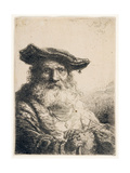 Old Man with Flowing Beard  1642