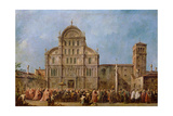 Easter Procession of the Doge of Venice at the Church of San Zaccaria  C1766-70