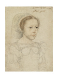 Portrait of Mary  Queen of Scots  C1549
