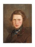 Self Portrait in a Brown Coat  C 1844