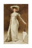 Portrait of a Woman with a Parasol