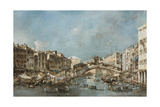 The Rialto Bridge  C1775