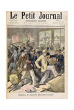 Rebellion of Conscripts from Alsace-Lorraine  from 'Le Petit Journal  1st November 1896