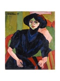 Portrait of a Woman  1911
