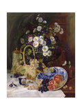 Still Life with Flowers and Fruit