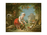 The Little Farm Maid  1752