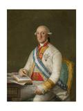 Vicente Maria De Vera De Aragon  Duque De La Roca  C1795
