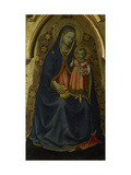 Madonna and Child  Triptych of Saint Peter Martyr  San Marco  Florence  Italy (Frescoes)