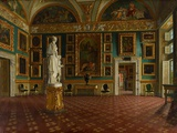 Sala Dell'Iliade in the Pitti Palace  Florence  C1870