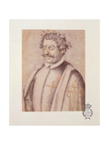 506 131-0793612/3 Portrait of Francisco Gomez De Quevedo Y Villegas (1580-1645) from the 'Book of D