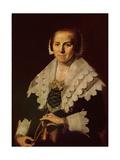 Portrait of a Woman with a Fan  1640