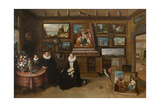 The Collection of Paintings of Sebastian Leerse  C1610
