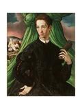 Portrait of a Florentine Nobleman  1546-48
