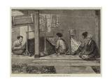 Embroidering Sarangs in Sumatra