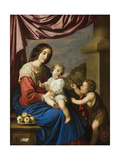 Madonna and Child with the Infant Saint John  1658