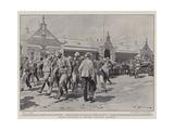 British Prisoners at Pretoria Changing Quarters