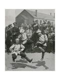 Soldiers Dancing in Barracks