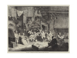 The Dance  Facsimile of an Etching by Adrian Van Ostade