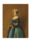 Portrait of Augusta  Princess of Prussia  1846