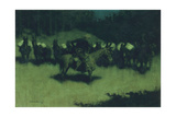 Scare in a Pack Train  1908