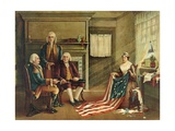Birth of Our Nation's Flag  1893