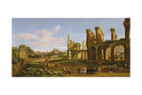 The Colosseum and the Roman Forum  1711