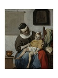 The Sick Child  C1664-6