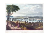 City of Washington from Beyond the Navy Yard  by William James Bennett (1787-1844) C1834