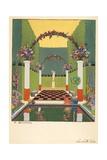La Salle Verte, Pub. Paris 1919 Giclée par Georges Barbier