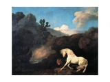 A Horse Frightened by a Lion  1770