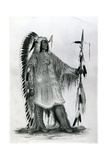 Mato-Tope  Second Chief of the Mandan People  C1833
