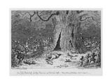 Sir John Falstaff and the Fairies  at Herne's Oak