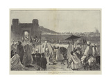 The Sultan of Morocco's Return to Mequinez from His Pilgrimage to Muley Edris